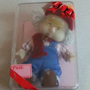 Popines retro made in spain by joy cotton hair doll